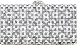 Envelope Clutch Purse Crystal Evening Handbag For Women