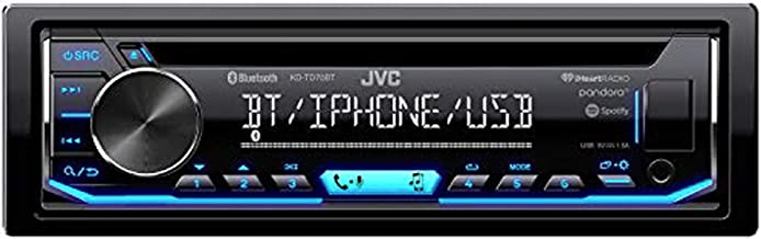 JVC KD-TD90BTS CD Receiver Featuring Bluetooth/USB/SiriusXM/Pandora/iHeartRadio/Spotify / 13-Band EQ