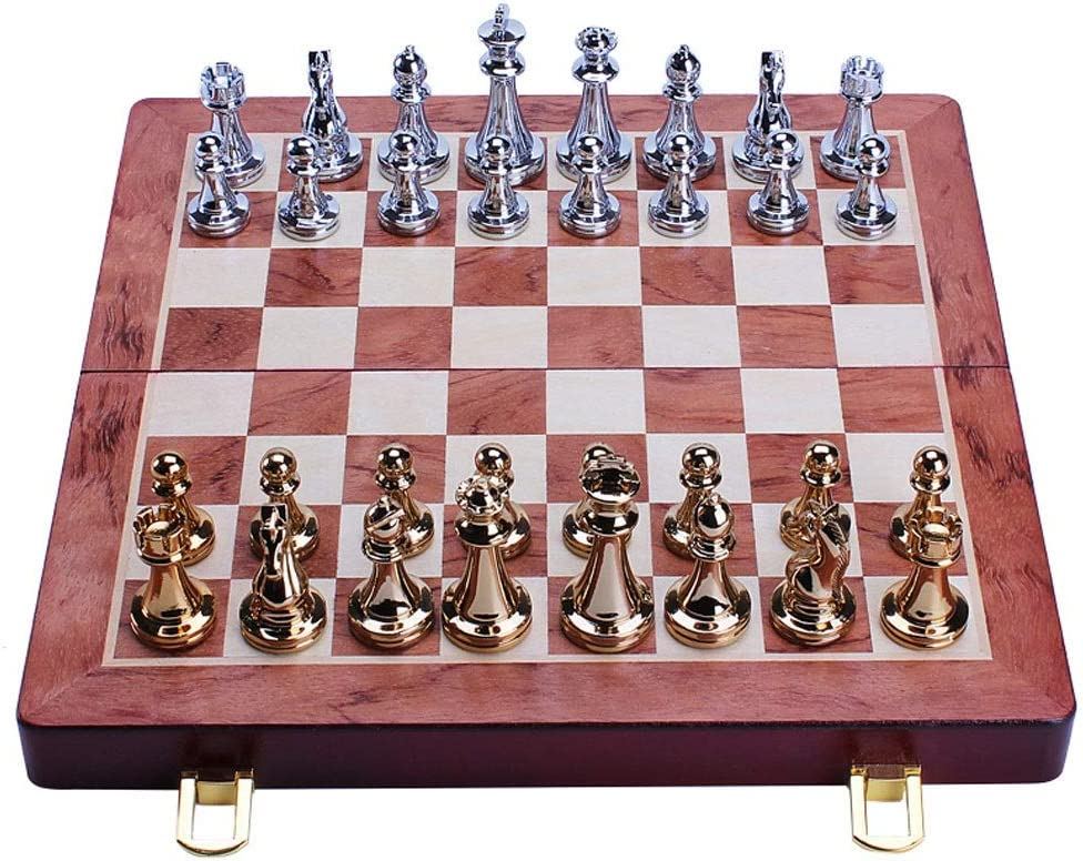 Sale special price RRH Chess Set for Adults Folding Portable Wooden Ches OFFicial