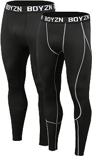 スポーツタイツ メンズ オールシーズン コンプレッションタイツ[UVカット・吸汗速乾]コンプレッションウェア パワーストレッチ アンダーウェア