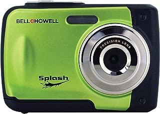 Bell+Howell Splash WP10-G 16.0 Megapixel Waterproof Digital Camera with 2.4-Inch LCD & HD Video (Green)