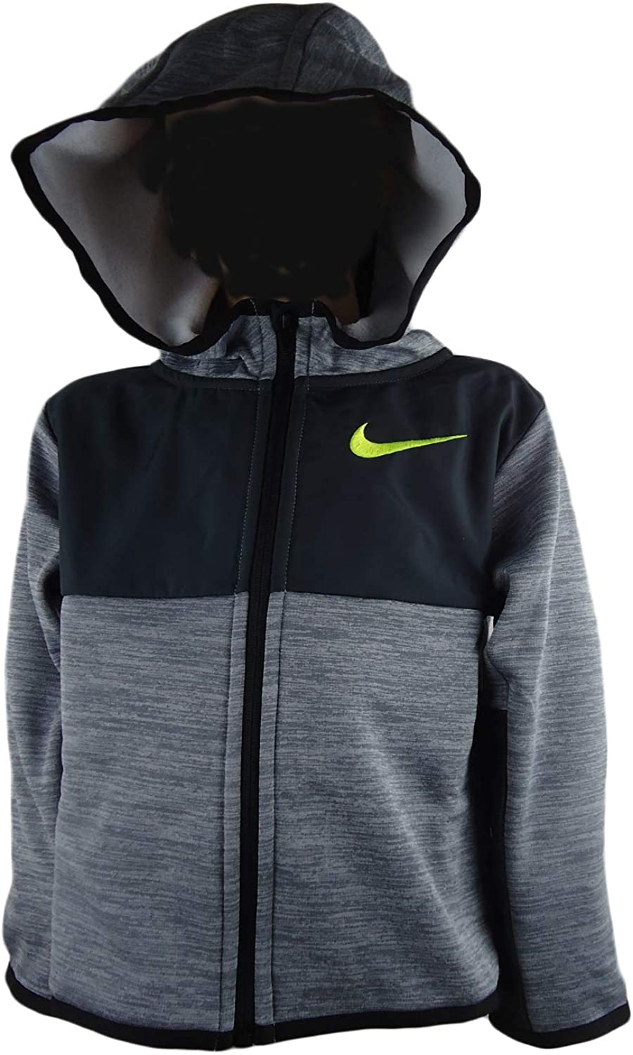Nike Kids Mens Winterized Therma Full Zip Hoodie (Toddler)