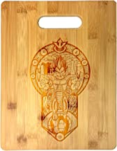"""Prince"" Anime Fighting Powerful Men Cartoon Parody Design - Laser Engraved Bamboo Cutting Board - Wedding, Housewarming, ..."