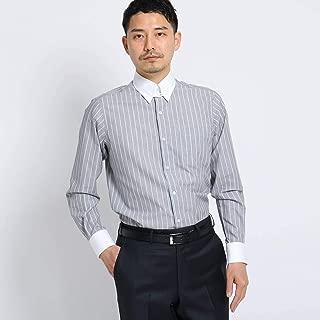 (タケオキクチ) TAKEO KIKUCHI 【PNJ】立絣縞レギュラーカラーシャツ[メンズ シャツ ビジネス 日本製] 07086002