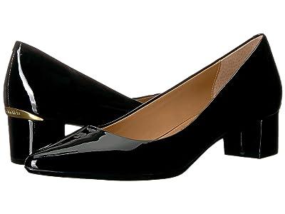 Calvin Klein Genoveva Pump (Black Patent) Women