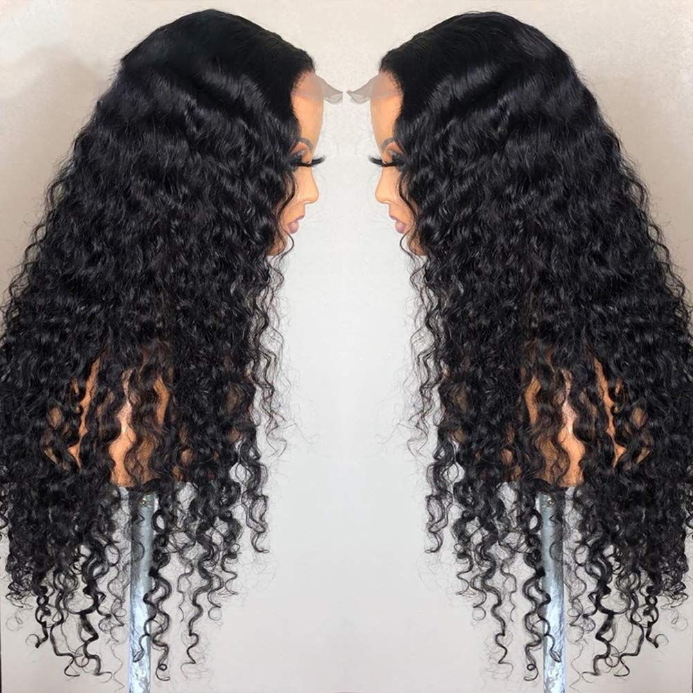 Kinky Curly Lace Front Spasm price Wigs Human Knot Bleached San Francisco Mall Plucked Hair Pre