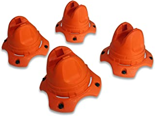 Hockey-Dot Underpass-X Training Cones Set of 4