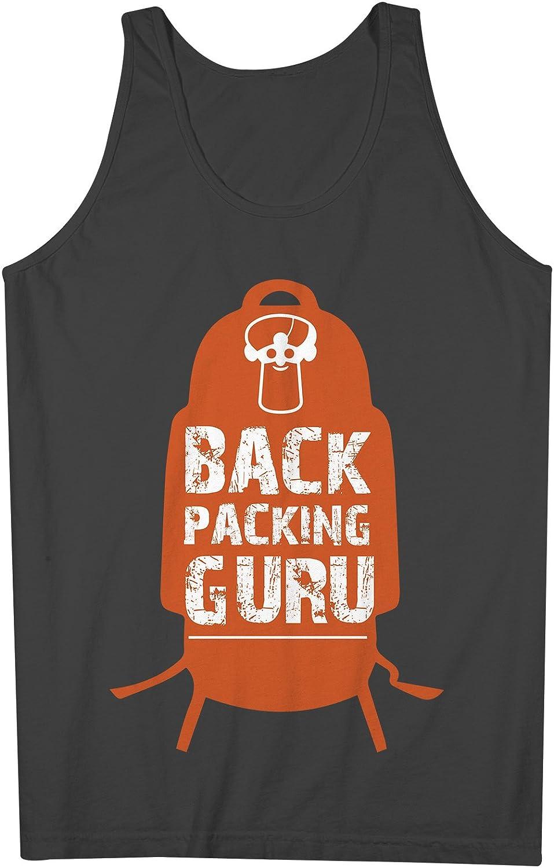 BackpacGuru Guru おかしいです Traveling 男性用 Tank Top Sleeveless Shirt