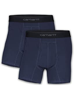 Carhartt 5 Inseam Basic Cotton-poly Boxer Brief 2-pack