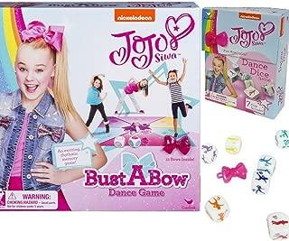 Cardinal Games Jojo Siwa Bust a Bow Dance Game Action and Bonus Dance Dice Game