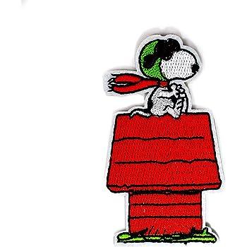 motivo: Cartoon 8 x 8 cm Toppa termoadesiva The Peanuts Snoopy Lucky Patch