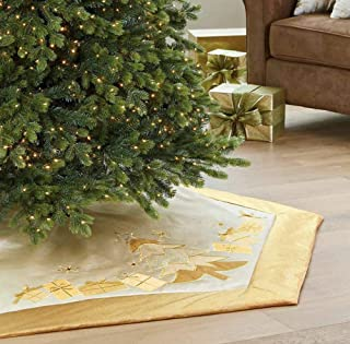 "CWC 66"" Adjustable Tree Skirt (Gold)"