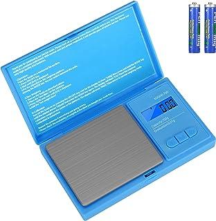 Aurora & Tithonus 02 Précision avec Écran LCD, Balance de Cuisine 700g / 0.01g avec 7 Unités, pour Peser des Cosmétique, d...