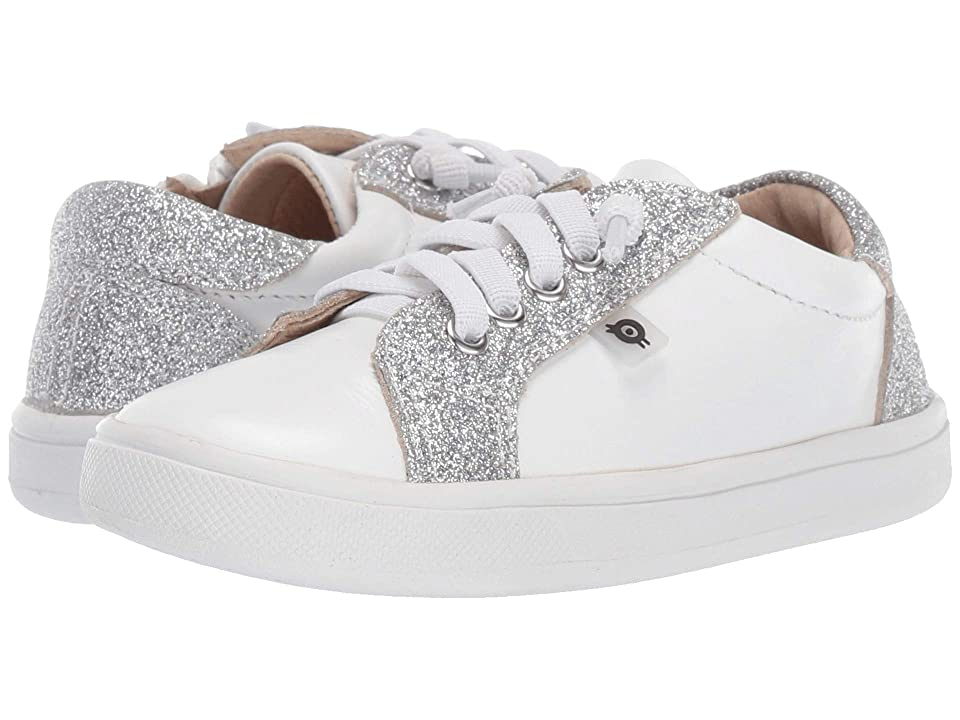 Old Soles Style Council (Toddler/Little Kid) (Snow/Glam Argent) Girl