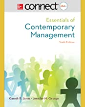 Connect 1-Semester Access Card for Essentials of Contemporary Management