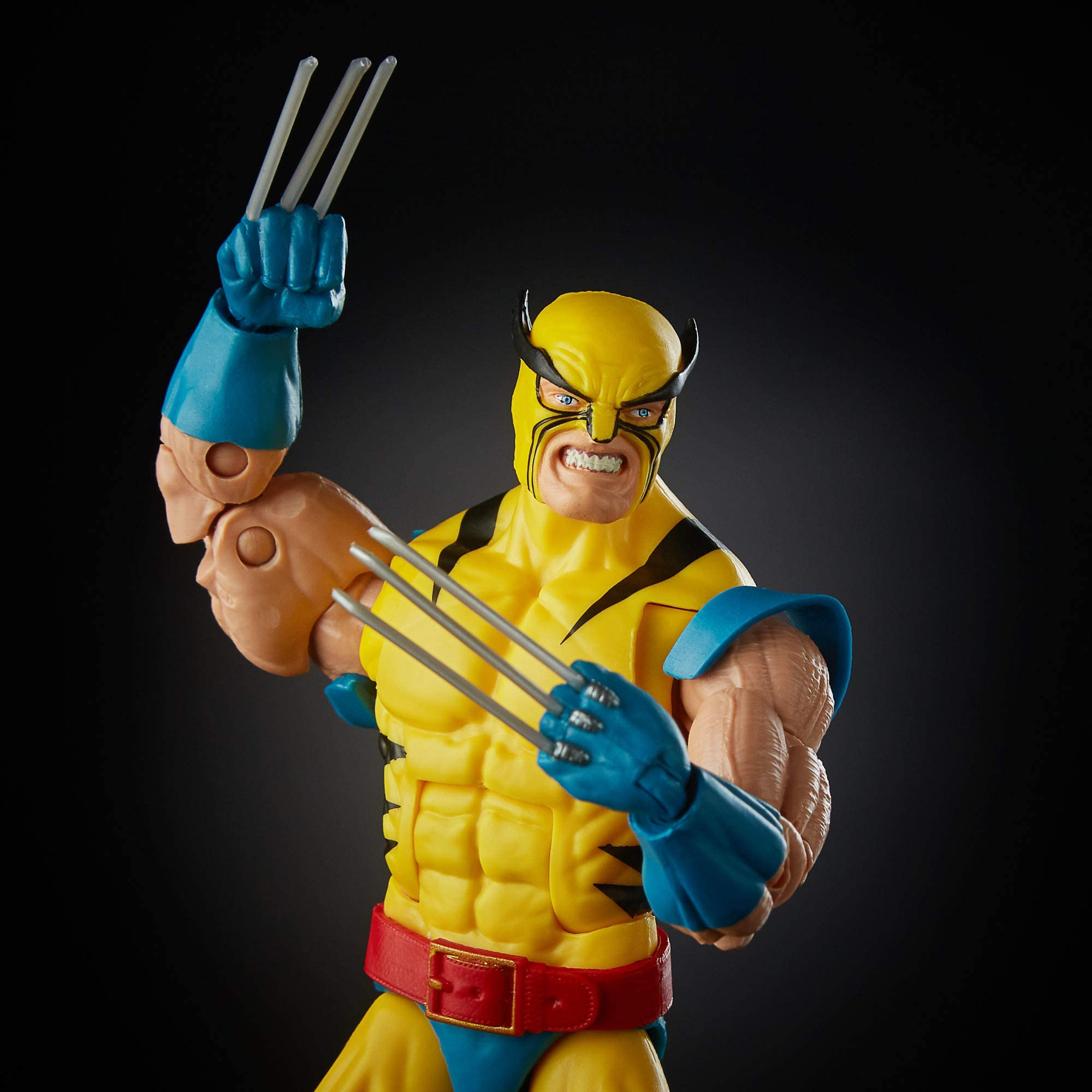 "HASBRO MARVEL LEGENDS 6/"" 80TH ANNIVERSARY WOLVERINE 1ST APP FIGURE FROM 2 PACK"
