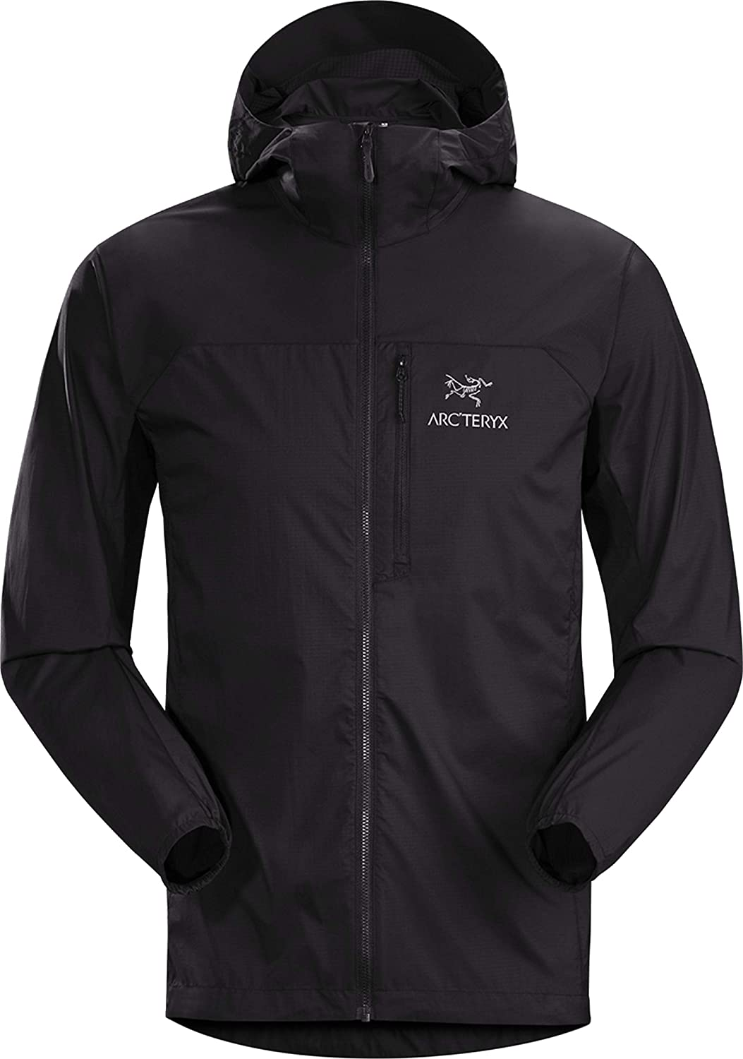 Free shipping Arc'teryx safety Squamish Hoody Men's Windshell. Light Compressible