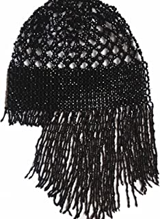 2019 Exotic Cleopatra Belly Dance Cap Beaded Headpiece Sparkling Stretch Hat Dance Costume Accessory