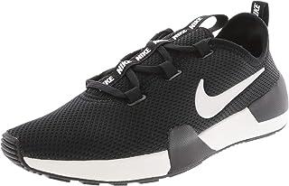Nike Womens Ashin Modern Fabric Low Top Lace Up, Black/Summit White, Size 9.5