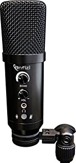 Enf_M160 USB Condenser Microphone for Streaming, Podcasting, Vocal Recording, Gaming,Work on Computer/PC,Desktop,Laptop,Sm...