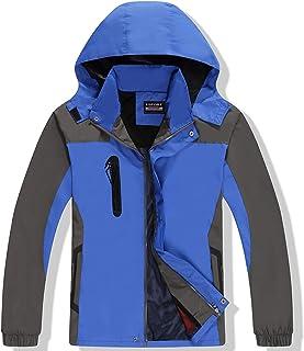 GAOXIAOMEI Men's Snowboarding Jacket Lightweight Insulated Snow Coat with Removable Hood Windproof Waterproof Snowproof Hi...