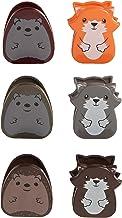Kikkerland Woodlands Bag Clip, Set of 6