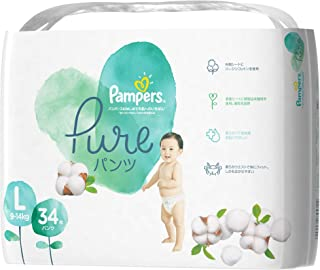 Pampers Pure Protection Pants Diapers, Large, 34 count