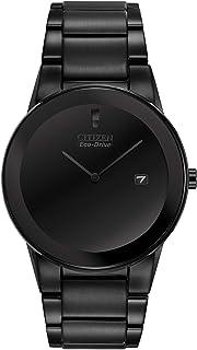 Men's Eco-Drive Black Ion-Plated Axiom Watch, AU1065-58E