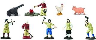 Safari Ltd Jamestown Settlers TOOB with 12 Fun Figurines, In