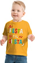 Fiesta til' Siesta | Cute Funny Napping Nap Time Party Toddler Boy Girl T-Shirt