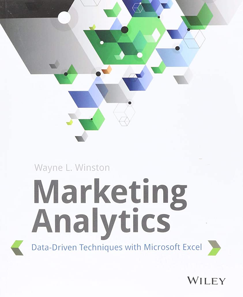 篭インスタンス節約するMarketing Analytics: Data-Driven Techniques with Microsoft Excel