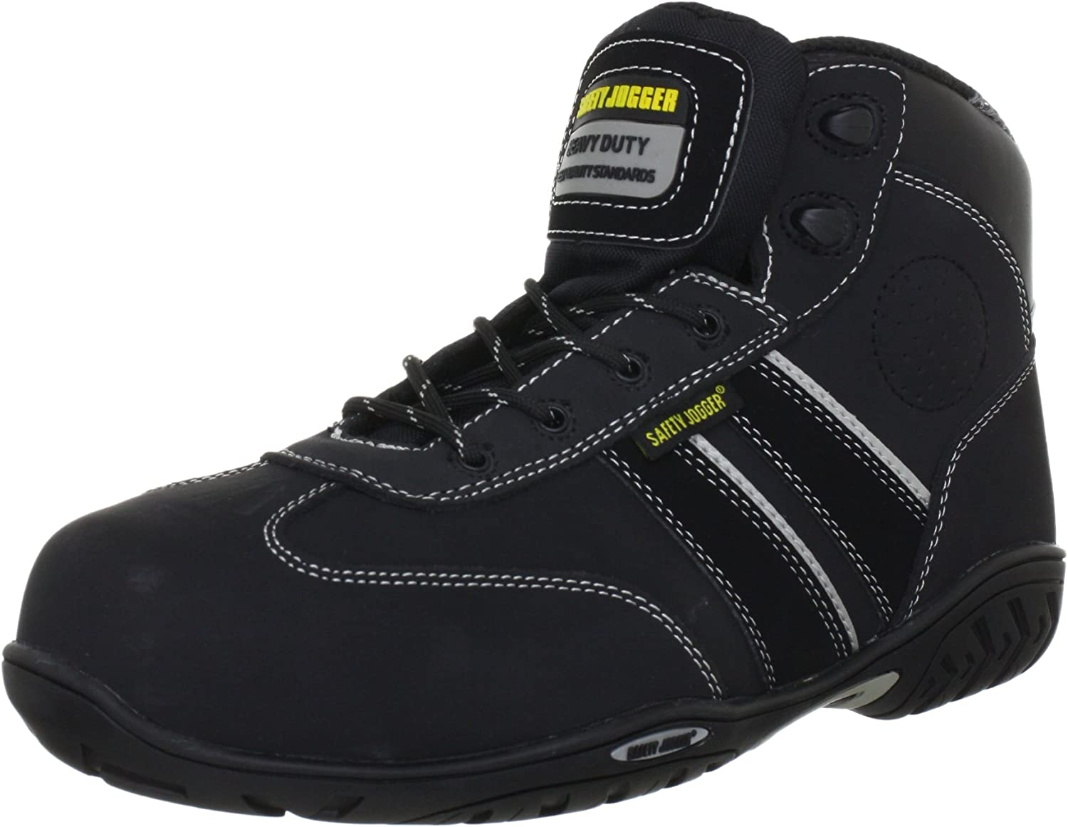 Safety Jogger Senna Unisex-Adults Safety shoes, black (black), EU 43
