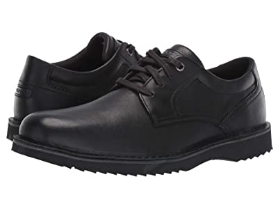 Rockport Cabot Plain Toe (Black) Men