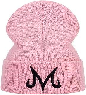 Dragon Ball Winter Beanie Knit Hats for Men Women Goku Majin Buu Beanie Hat Frog Skiing Cap