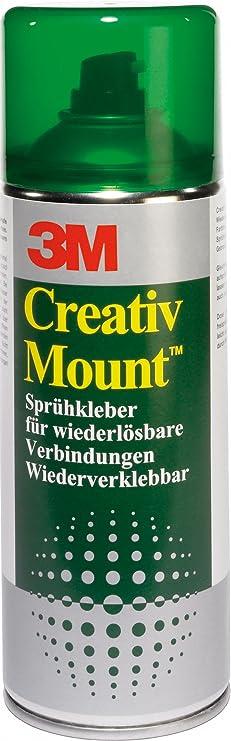 3m Displaymount 1 Dose 400ml Permanenter Mehrzweck Sprühklebstoff Ideal Für Hochleistungsanwendungen Bürobedarf Schreibwaren