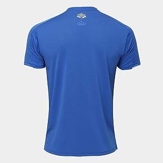 Camisa do Cruzeiro I 19/20 s/n Torcedor Umbro Masculina - Azul+branco - Gg