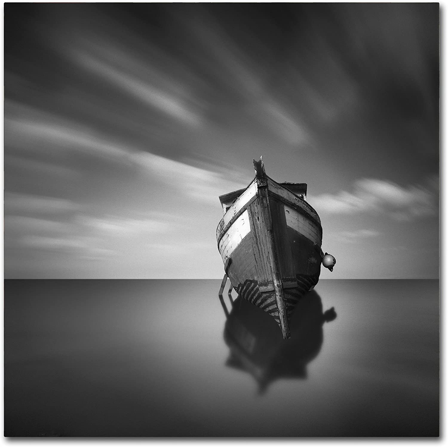 Trademark Fine Art My Boat IV by Moises Levy, 14x14Inch