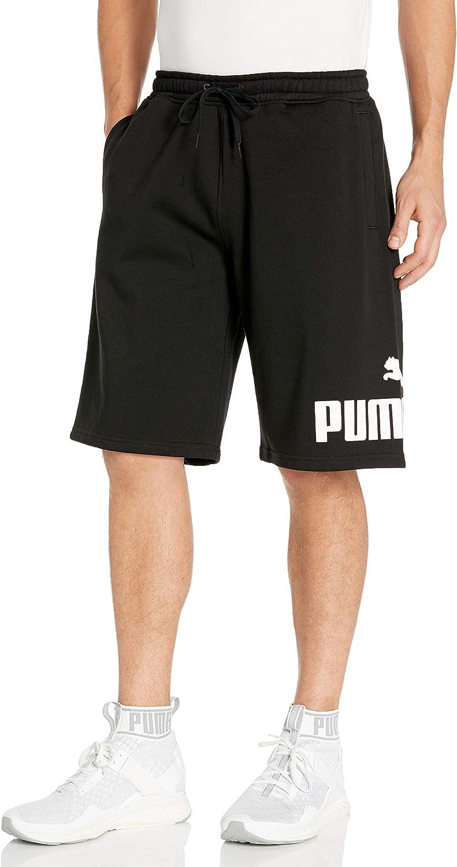 授与 PUMA Men's Big Fleece Logo Short 10
