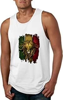 Rasta Lion | Mens Weed Fashion Graphic Tank Top