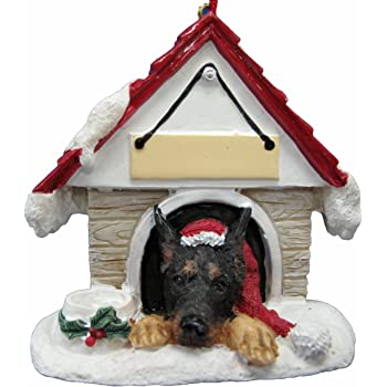Cocker Spaniel Ornament A Great Gift For Cocker Spaniel Owners Hand Painted and Easily Personalized Doghouse Ornament With Magnetic Back E/&S Imports Inc 35355-78a
