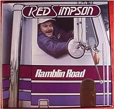 RED SIMPSON - ramblin road SEA SHELL 16253 (LP vinyl record)