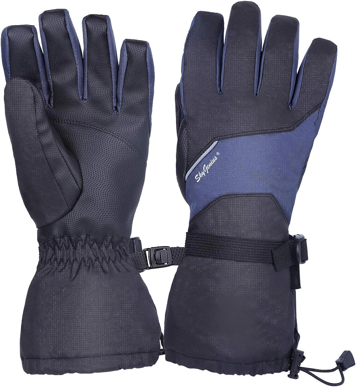 SkyGenius Winter Gloves for Men Waterproof Popular brand in the world Women Snowboard Spring new work Glov