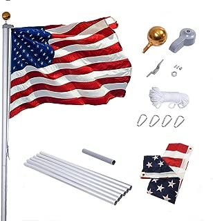 long flexible flag pole