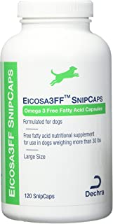 Dechra Eicosa 3FF SnipCaps Large Dogs Over 30 lbs (120 Count)