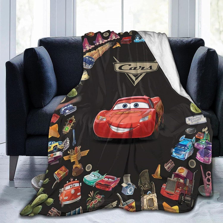 latest YUNDO Lightning McQueen 100% quality warranty Cars Blanket Throw Soft Cozy Fl Blankets