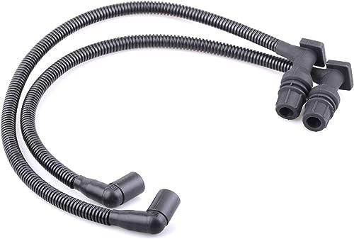 high quality Mallofusa Low Ohm Performance Ignition Coil Spark lowest Plug Wire Cap Compatible for 2011-2017 Polaris Ranger RZR 800 new arrival 4012888 4012889 (2 Pcs) outlet sale