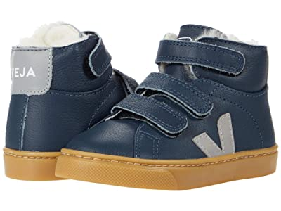 VEJA Kids Small Esplar Mid Faux Fur (Toddler) (Nautico/Oxford/Grey) Kid