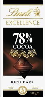 LINDT & SPRUNGLI Excellence Dark 78% Cocoa, 100g