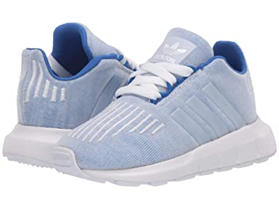 adidas Originals Kids Swift Run I (Toddler) (Blue/White) Boys Shoes