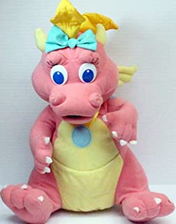 "Vintage DRAGON TALES CASSIE 12"" Plush (1999)"